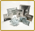 Bracket & Covers Aluminum & Steel Automotive Stamping Prototoypes - Perfection Spring & Stamping